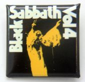 Black Sabbath - 'Vol 4' Square Badge